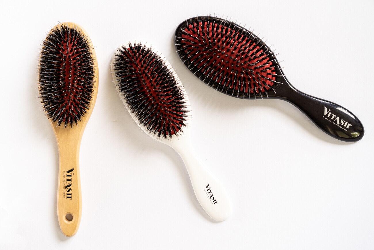 Profi Extensions Bürste für Haarverlängerung Pflege Echthaar Perückenbürste