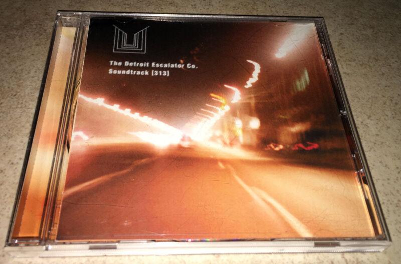 The Detroit Escalator Co. Soundtrack 313 CD Rare OOP 1996 Ferox Records