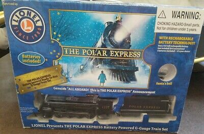 The Polar ExpressTrain Set Lionel 7-11022 G-Gauge Christmas train set