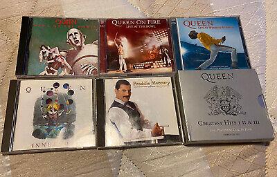 Queen Cd Bundle Joblot News Of The World Live Wembley Platinum Collection
