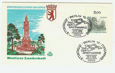 Berlin FDC Ersttagsbrief 1976 Berliner Ansichten Mi.Nr.531