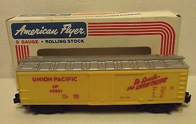 AMERICAN FLYER by Lionel 48801 UP Union Pacific REEFER Refrigerator CAR C-9 NEW