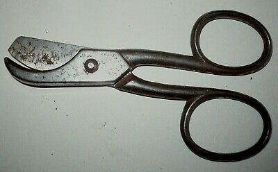 ANTIQUE STEEL CANDLE WICK TRIMMER 5 1/2