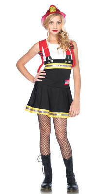 FIREFIGHTER  GIRLS COSTUMES Leg Avenue Teen junior sizes s/m and m/l j48047