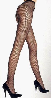 Music Legs 9001 Adult Fishnet Pantyhose Nylon Costume Accessory Reg Black