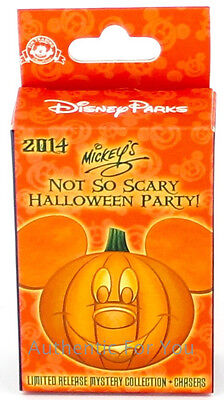 NEW 2014 Disney SEALED Mystery Pin Box Mickey's Not So Scary Halloween MNSSHP ()