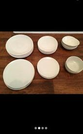 Next with Love / Ikea part dinner sets cream