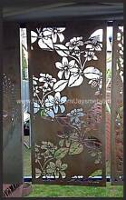 floral vine pattern decorative Metal panel Corio Geelong City Preview