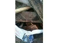 £25 Builders bag of cut timber and kindling