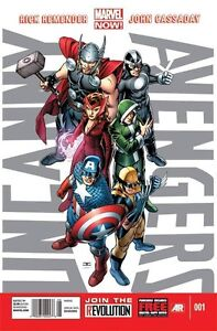 UNCANNY-AVENGERS-1-REGULAR-1st-PRINT-COVER-NM-X-MEN-AVX-MARVEL-WOLVERINE-THOR