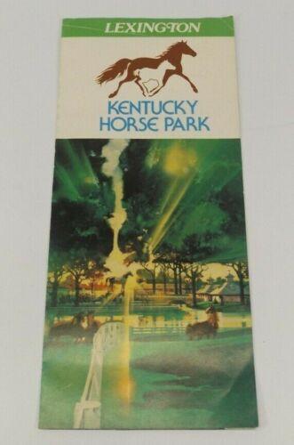 Vtg Kentucky Horse Park Lexington Brochure