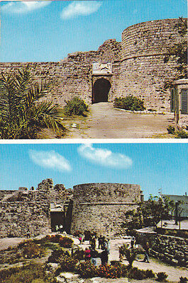 CYPRUS POSTCARD FAMAGUSTA THE TOWER OF OTHELLO MONA 161 EARLY 1960 S