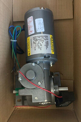 Baldor Electric Gc24312 Gear Motor .05 Hp 115 V 1-phase 16 Rpm New