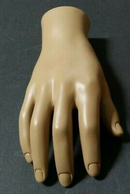 Mn-handsm-wf Fleshtone Right Male Mannequin Hand Jewelry Display
