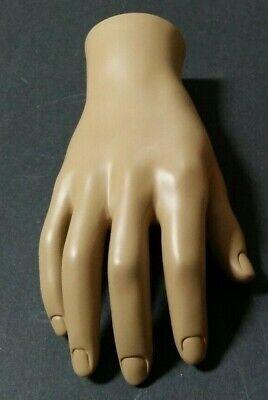 Mn-handsm-wf Fleshtone Right Male Mannequin Hand Jewelry Display