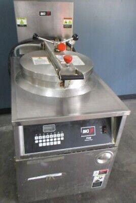 Bki Fkm-fc Hd Digital 208v 3 Phase Electric Pressure Fryer Wfiltration Cooker