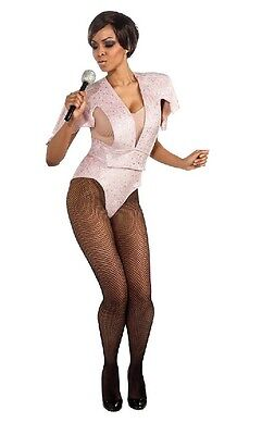 Rihanna Secret Wishes Bodysuit Costume Small=