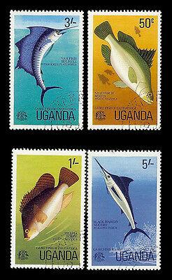 UGANDA. Fish. Canceled. (BI#38)