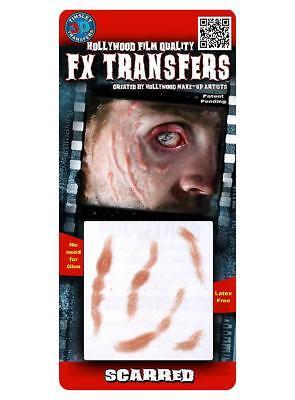FX Transfers Narben Make Up Schmink Set Halloween Horror Kostüm Fasching Theater