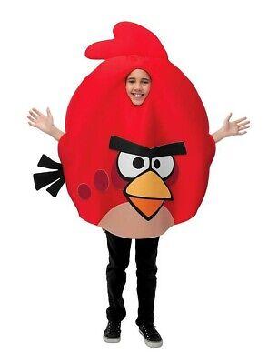 Angry Birds Kinder-Kostüm Vogel rot