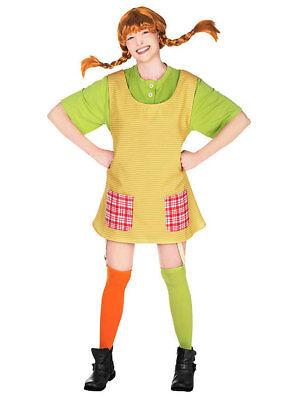 Pippi Langstrumpf Kostüm für Damen NEU - Damen - Pippi Langstrumpf Kostüm