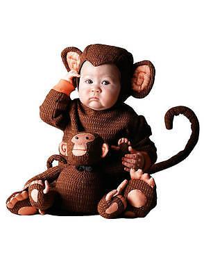 Kinderkostüm Affe von Maskworld Größe 3-4 Jahre inkl. OVP Baby (Kinder Affe Kostüme)