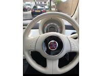 White Fiat 500 Lounge 1.2 for sale