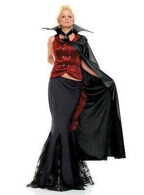 Kostüm LADY DRACULA II Fasching Karneval Vampir Twilight Gr. M Halloween - Lady Dracula Kostüm