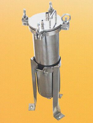4 Bag Filter Housing 304 Ss 1 Fnpt Inout 150 Psi Flat Plate Lid Nib Process