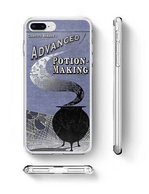 Harry Potter Advanced Potion Inspired soft rubber silicone iPhone phone case