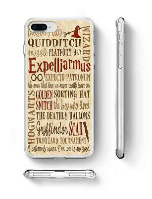 Harry Potter Wizard Quote Inspired Phone Case rubber silicone iPhone 6 7 Plus