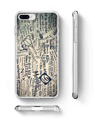 Harry Potter Grey Quotes Inspired Phone Case rubber silicone iPhone 6 7 Plus X