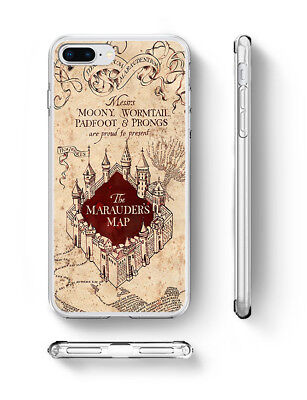 Harry Potter Marauder's Map Inspired soft rubber silicone iPhone phone case UK