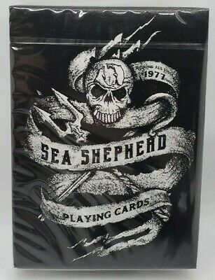 Sea Shepherd Limited Deck - Ellusionist Playing Cards Rare