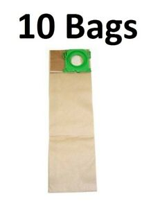 10 Micro Lined Vacuum Bags For Windsor Sensor Versamatic Plus Sebo