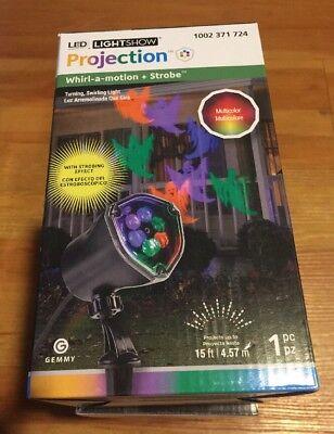 LightShow LED Projection Chasing Ghost Strobe Multi-Color Spotlight - Strobe Lichterkette