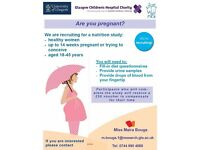 Pregnant or trying for a baby? - £50 study
