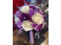 WEDDING FLOWERS MADE WITH ARTIFICIAL FLOWERS FOR SALE