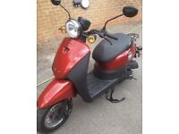 2015 Sinnis 50cc moped