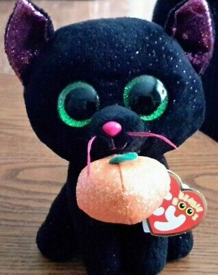 Ty Beanie Boos Halloween  Potion Black cat  6