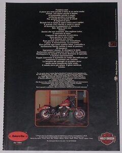 Advert-Pubblicita-1994-HARLEY-DAVIDSON