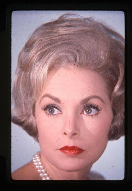 Janet Leigh Beautiful Vintage Glamour Portrait Color Original 35mm Transparency