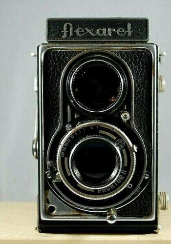 Vintage Flexaret III TLR Camera Rare with case