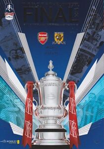 FA CUP FINAL 2014 ARSENAL v HULL CITY MINT PROGRAMME