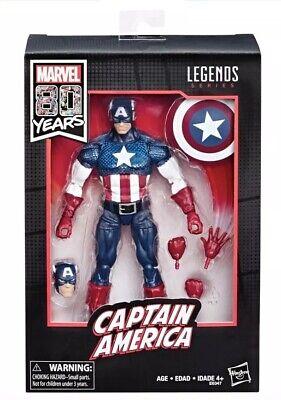Marvel Legends Series 80th Anniversary Captain America Walmart Exclusive NIB