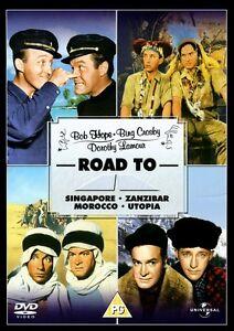 Road To Singapore Zanzibar Morocco Utopia Collection - Bob Hope Bing Crosby DVD