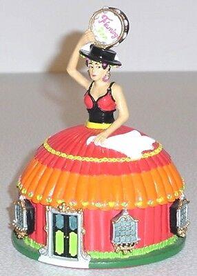 FLAMINGO INN DINER Flamenco Dancer Restaurant Hotel Lefton Roadside USA '94 MIB