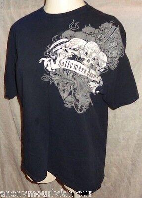 2007 Knotts Halloween Haunt Shirt XL Knott's Scary Farm Black](Grim Halloween Haunt)