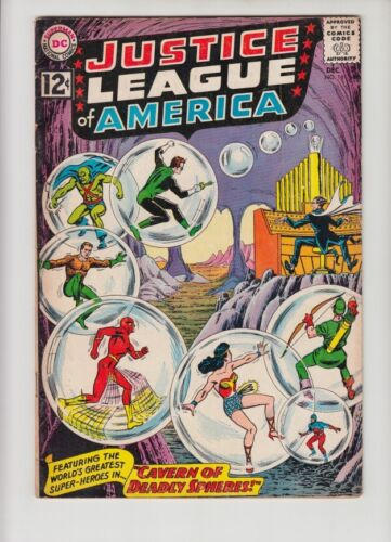 JUSTICE LEAGUE OF AMERICA #16 VG+