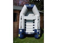 Zodiac 2.4 Inflatable. Good condition. Weever Davit fittings.